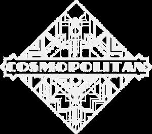 Cosmopolitan Tattoo - Logo blanc et transparent