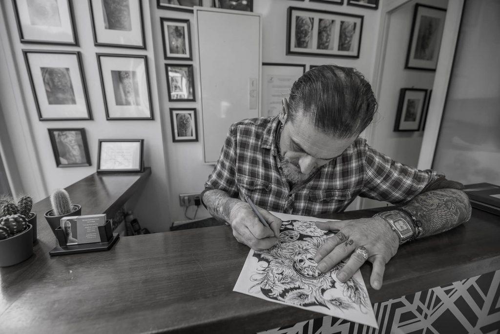Cosmopolitan tattoo Bayonne - Le tatoueur Christian